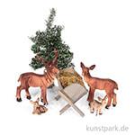 Mini-Garten Set - Rehe im Wald