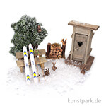 Mini-Garten Set - Skiurlaub
