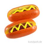Mini Hotdog, 2 Stück, 2 cm