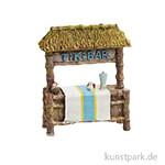 Mini Strandbar - Tikibar, 7x8x2,5 cm