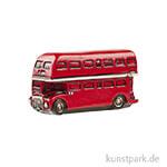 Miniatur Doppeldecker Bus - Vintage, 6x3 cm