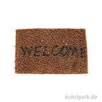 Miniatur Fußmatte 4,5x6,5 cm
