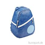 Miniatur-Rucksack mit Öffnung für Geldgeschenke, 8x4x6,5 cm