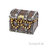 Miniatur Schatztruhe 3,8 x 3 x 3,2cm