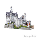 Miniatur Schloss Neuschwanstein, 33x75x52 mm