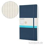MOLESKINE Notizbuch Softcover - Saphir - Dotted, 192 Seiten