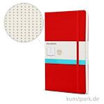 MOLESKINE Notizbuch Softcover - Scharlachrot - Dotted, 192 Seiten