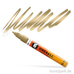 Molotow ONE4ALL Marker - HS127 2 mm 2 mm | Metallic gold