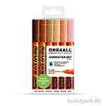 Molotow ONE4ALL Marker - HS127 Character-Set 6er