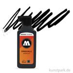Molotow ONE4ALL Nachfüllfarbe 180 ml | Signalschwarz