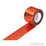 Motiv-Klebeband Washitape - Metallic Kupfer, 30 mm, 10 m Rolle