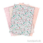 Motivpapier Block - Hygge Flowers, 30 Blatt