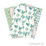 Motivpapier Block - Hygge Plants, 30 Blatt