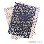 Motivpapier Block - Jardin Japonais, 30 Blatt