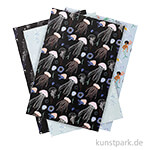 Motivpapier Block - Mermaid, 30 Blatt