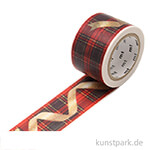 MT Masking Tape Christmas Ribbon - 30 mm, 7 m Rolle