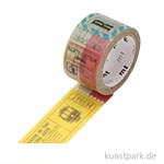 MT Masking Tape Fab Ticket - 20 mm, 3 m Rolle