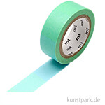 MT Masking Tape Fluo Abstufung Blau und Gelb, 15 mm, 7 m Rolle