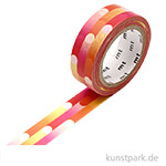 MT Masking Tape Motion Pink, 15 mm, 7 m Rolle