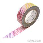 MT Masking Tape Scribble - 15 mm, 10 m