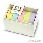 MT Masking Tape Set Pastel 2 mit 5 x 15 mm x 10 m