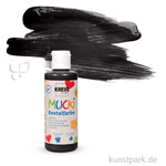 MUCKI Bastelfarbe 80 ml | Schwarz