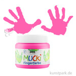 MUCKI Fingerfarbe - cremig & pastos 150 ml | Pink