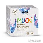 MUCKI Funkel-Fingerfarbe 4er-Set