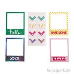 My Planner - Fotorahmen und -ecken - Happy, 4x6 Designs