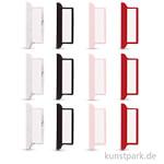 My Planner - Kleberegister 4 Farben Uni, 12 Stück sortiert