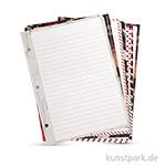 My Planner - Notizzettel, DIN A5, 100 g, 24 Blatt, 8 Muster sortiert