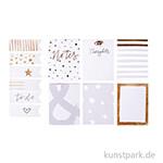 My Planner - Notizzettel - Glam, selbstklebend, 12 Block sortiert