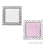 My Planner - Notizzettel Heart + Dots, selbstklebend, 2 Block sort.