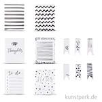 My Planner - Notizzettel Stripes + Dots, selbstklebend, 12 Block sort.