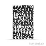 My Planner - Sticker ABC, 4 Blatt sortiert