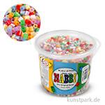 NABBI Bügelperlen - Perlmuttfarben, 5x5 mm