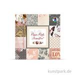 Paper Pack - Butterflies, 24 Blatt, 190 g 15,3 x 15,3 cm