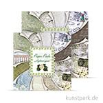 Paper Pack - Hydrangeas, 24 Blatt, 190 g