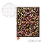 PAPERBLANKS Dot-Grid Planer - Aurelia, 180x230mm
