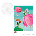 PAPERBLANKS Dot-Grid Planer - Fröhlicher Frühling, 180x230mm