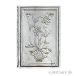 PAPERBLANKS Notizbuch - Blumen des Taj Mahal - Lahori, 95 x 140 mm