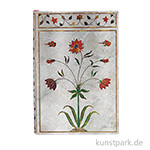 PAPERBLANKS Notizbuch - Blumen des Taj Mahal - Mumtaz, 95 x 140 mm