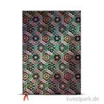 PAPERBLANKS Notizbuch - Heilige tibetische Stoffe - Chakra, 210 x 300 cm