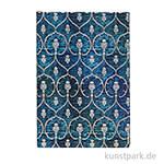 PAPERBLANKS Notizbuch - Samtblau, 95 x 140 mm