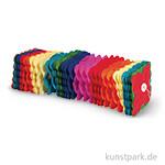 Papier Girlande Regenbogen, 300x11x11 cm
