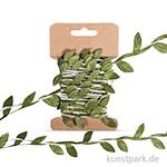 Papierkordel mit Blätterranke - 2m