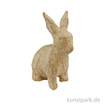 Pappmaché - Mini Hase sitzend