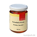 PASSIONE Schellackfirnis für Schlagmetall 125 ml