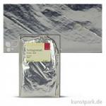 Passione Schlagmetall-Blätter Schabin 14 x 14 cm | Silber (20 Blatt)