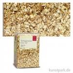Passione Schlagmetall-Flocken, klein abburstig | Gold 2 (12 g)